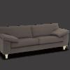 athena stof sofa grå