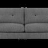 RM 147 stofsofa grå