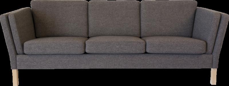 RM 41 sofa 3 personers stof