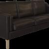 RM 43 sofa læder 3 personers