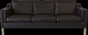 RM 43 sort læder