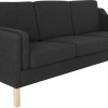 RM 43 stof sofa sort