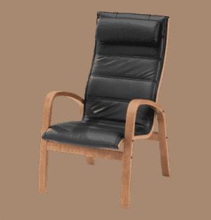 cosmo stol høj læder