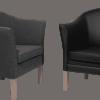 linea stole læder og stof