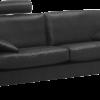 scala a2 sofa sort læder