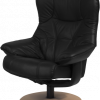 sigma stol sort læder